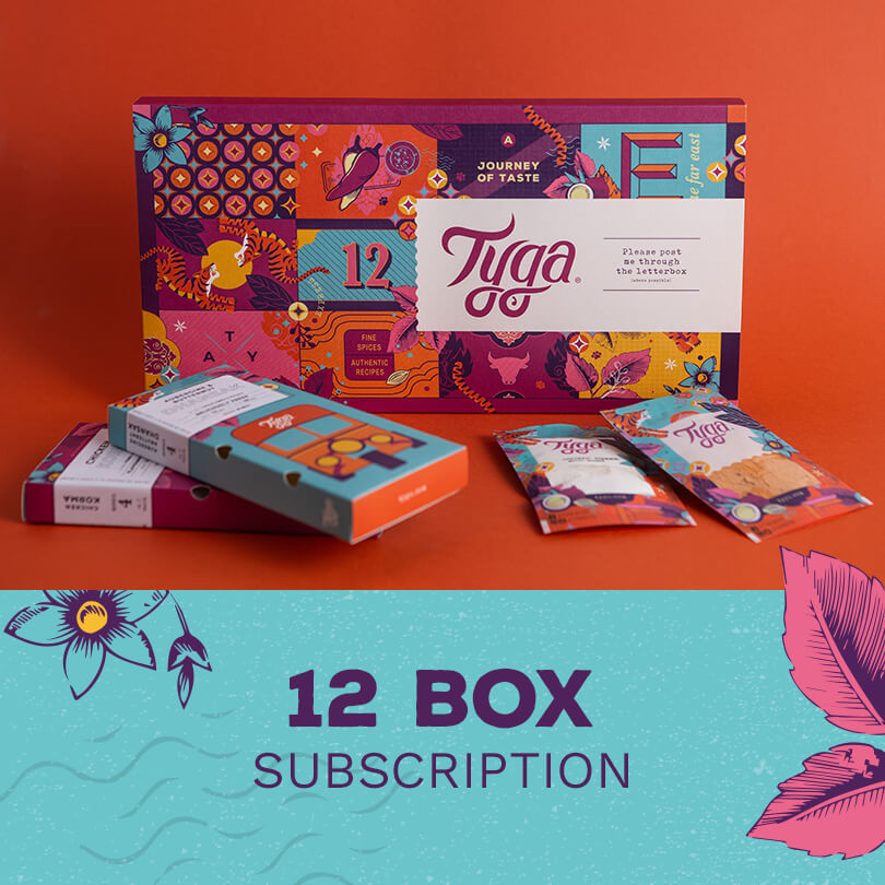 Twelve Month Indian Meal Kit Subscription