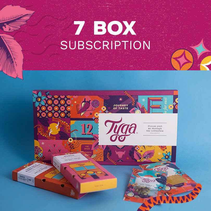 Seven Month Indian Meal Kit Subscription