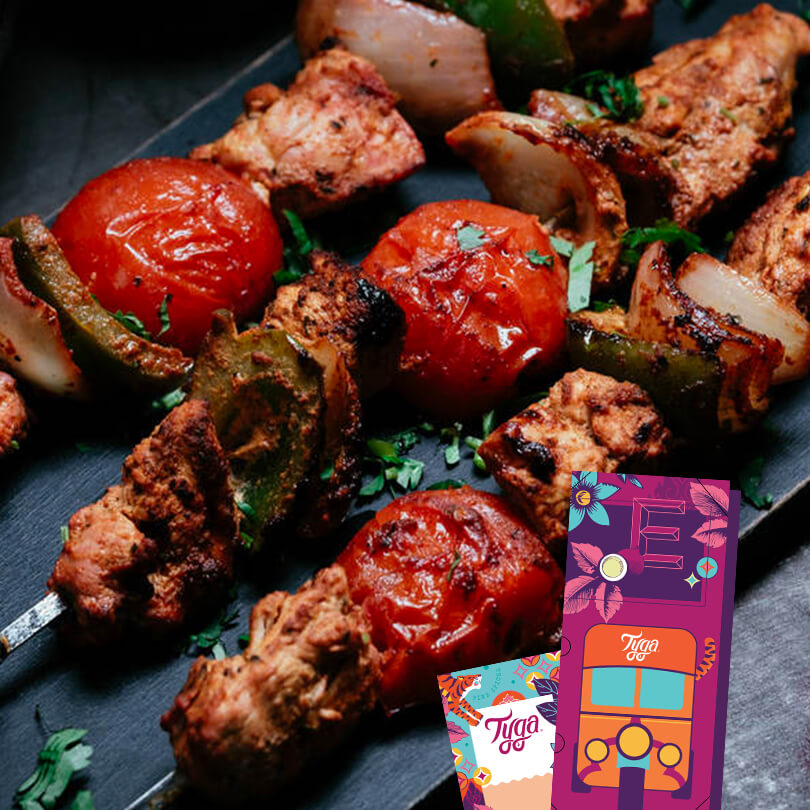 The Bbq Lovers' Curry Kit (includes gift packaging)