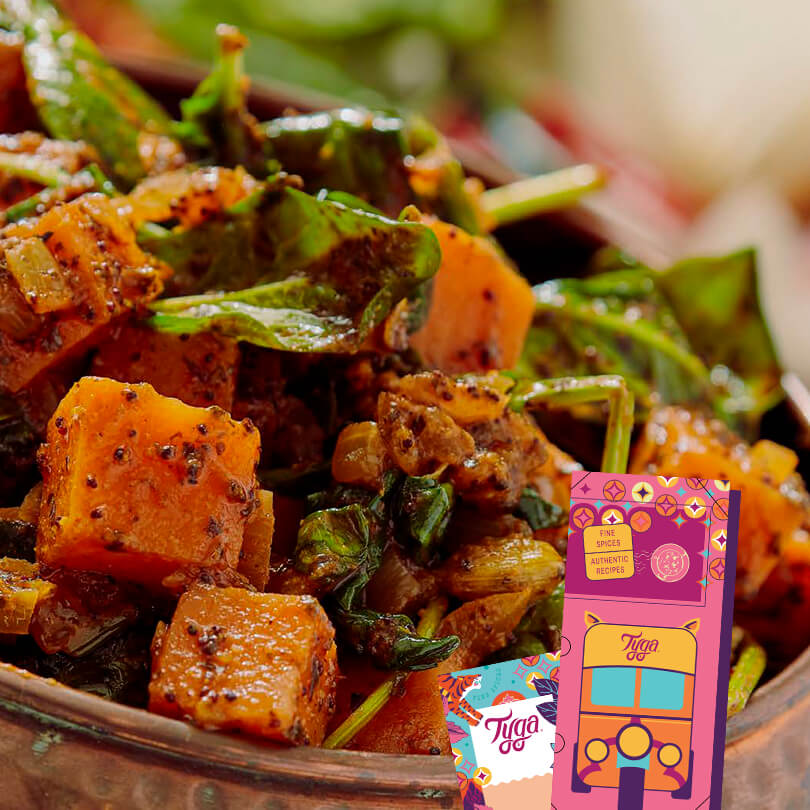 Sweet Potato Saag